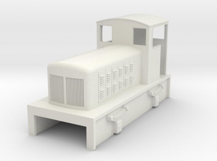 TTn3 Fowler diesel loco 3d printed