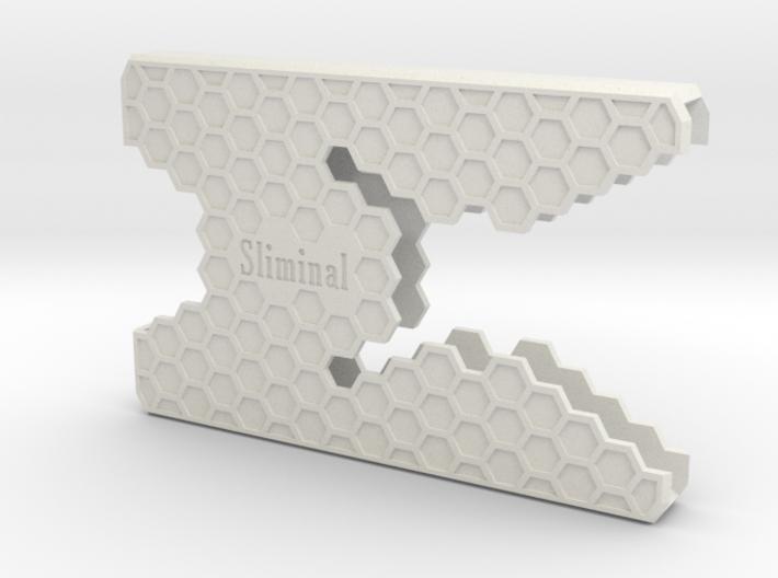 "Sliminal ""Hive"" (8 Cards) 3d printed"