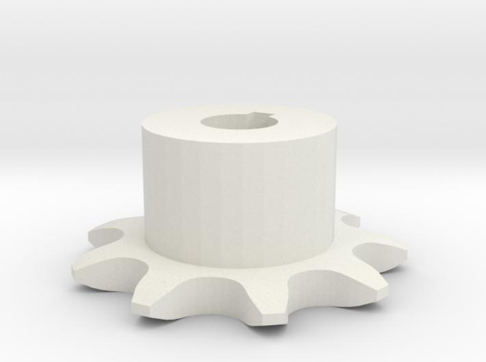 Pignone Per Catena Semplice ISO 05B-1 P8 Z9 3d printed