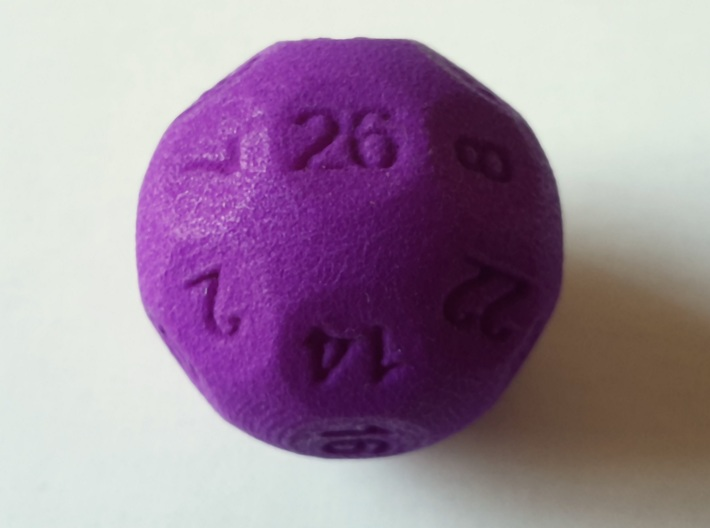 D26 Sphere Dice for Impact! Miniatures 3d printed