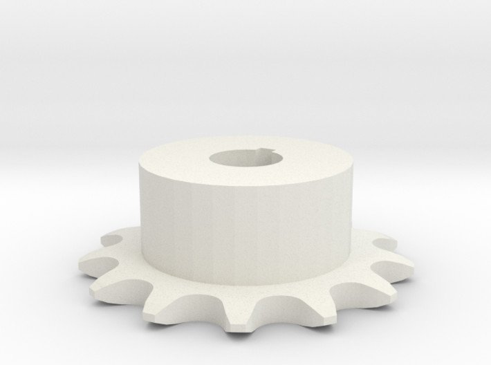 Chain sprocket ISO 05B-1 P8 Z13 3d printed