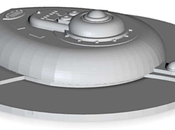 High Tech Excelsior Bridge Mod 2 From Netfabb 3d printed