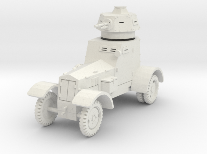 PV148A wz34 Armored Car (28mm) 3d printed