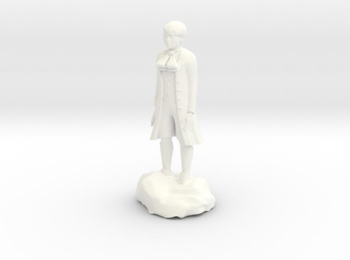Billy, the demonic kid, in aristocrat attire. 3d printed