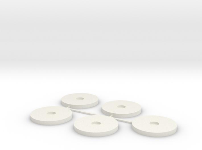 20x2mm MagBase x5 3d printed