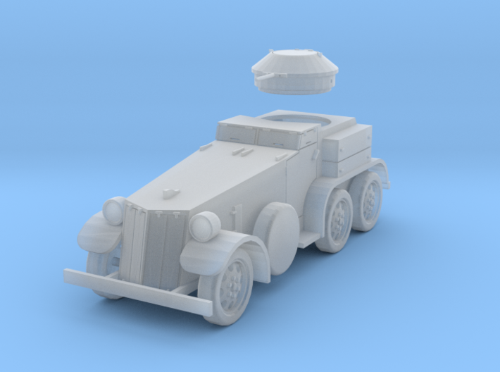 PV39E T4 (M1) Armored Car (1/144) 3d printed