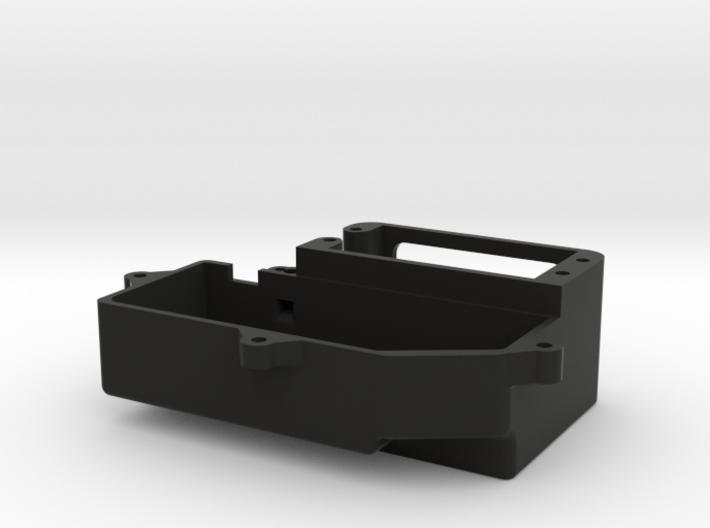 SCTE 3.0 Servo Mount w/ Radio Box, Bottom only. 3d printed