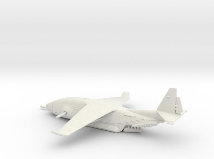 Zues C-135 warplane (small) 3d printed