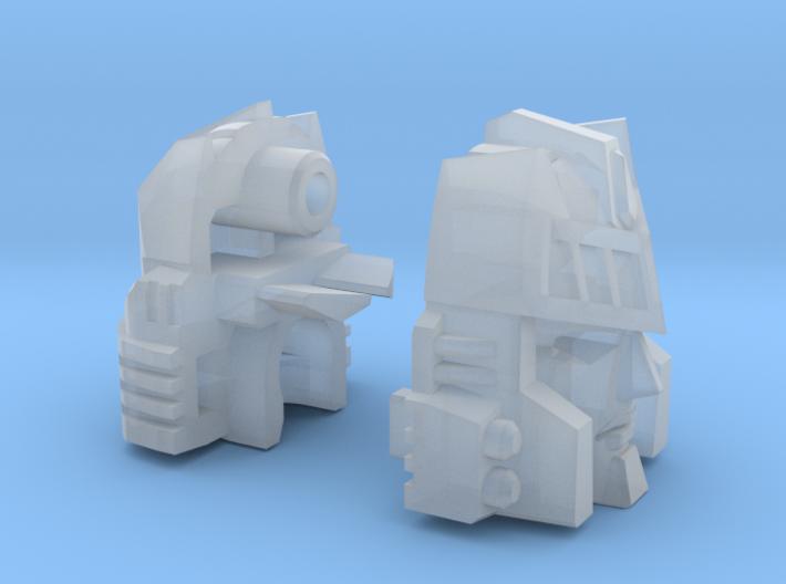 Autocrat Narcissist Head Combiner Version 3d printed