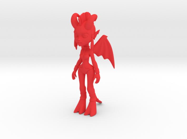 Demon Figure 3d printed