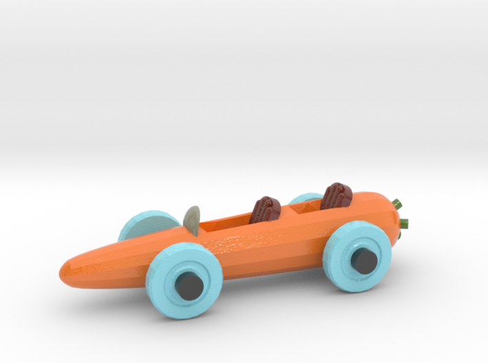 Carrot Car 3 3d printed