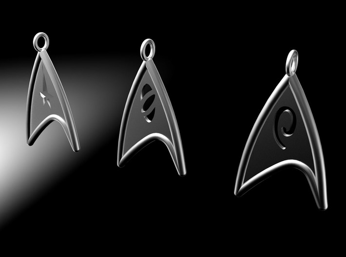 Starfleet Engineering Badge pendant 3d printed