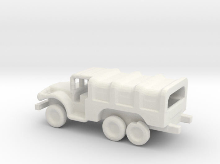 1/200 Scale Dodge WC 6x6 Covered 3d printed