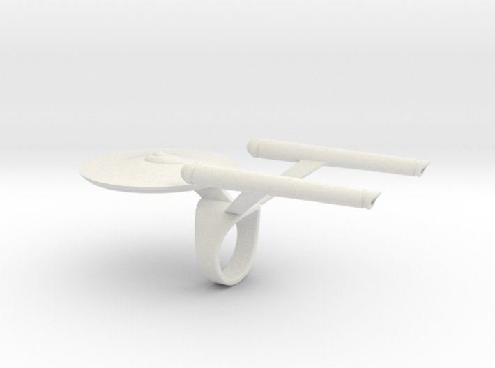 Enterprise Ring  3d printed