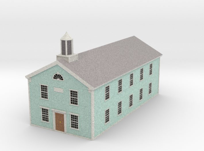 Town Hall - Zscale 3d printed