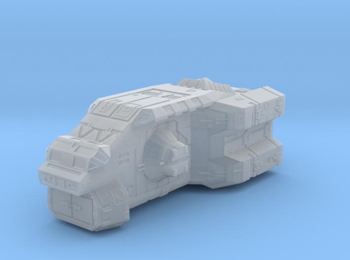 "Turanic Raider ""Thief"" Corvette 3d printed"