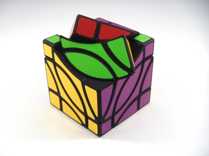4 Corners Cube Puzzle 3d printed Type B 2nd Turn