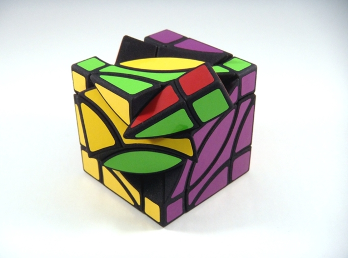 4 Corners Cube Puzzle 3d printed Type B 4th Turn