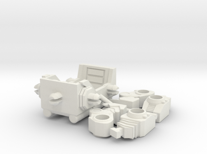 "Horri-Bull Minivehicle, ""B"" Parts 3d printed"