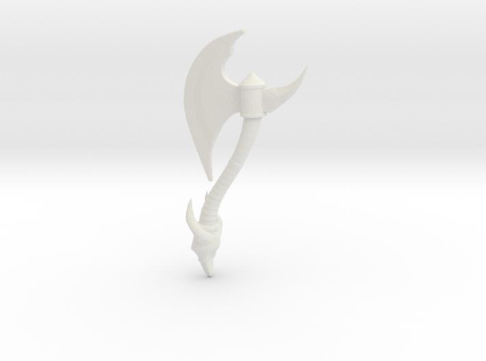 Battle-axe 3d printed