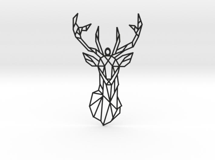 Pendant Deer 3d printed