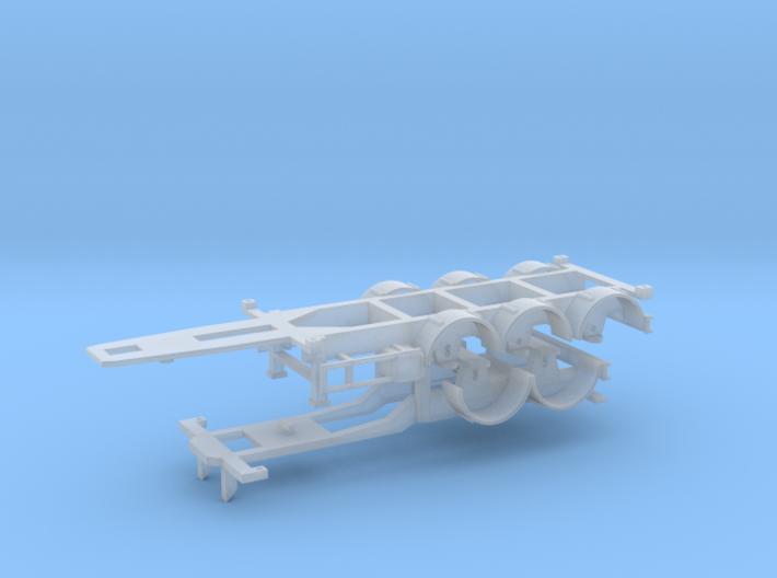 Combitrailer 3d printed