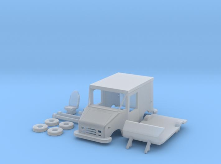 Grumman LLV USPS Truck SW Ready Hollow Lights 3d printed