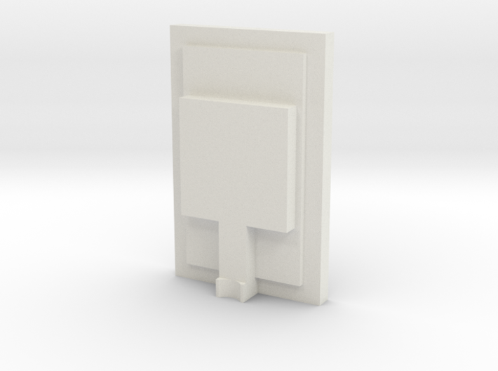 1/48 Chicago Pneumatic Speed Recorder Rear Cover 3d printed