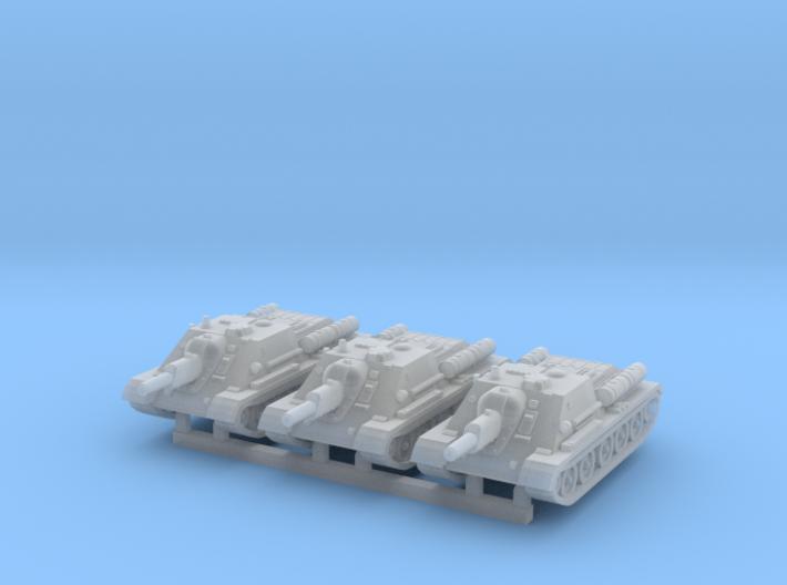 1/160 SU-122 self-propelled gun (WSF version) 3d printed