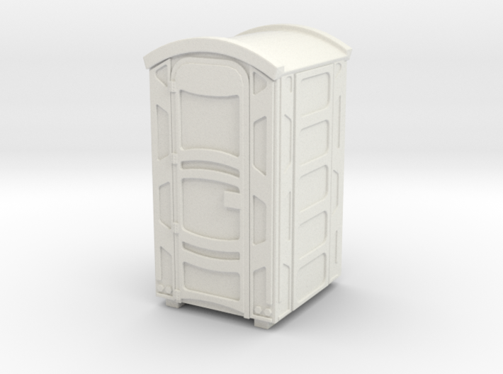 Portable Toilet 01. 1:22 Scale 3d printed