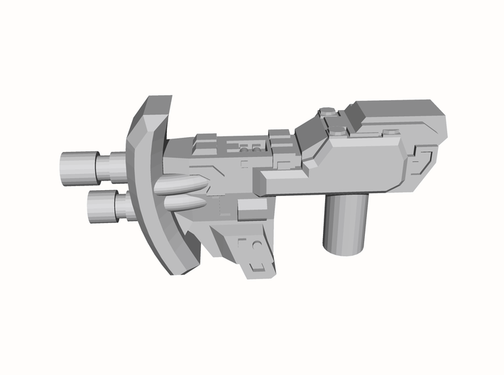 """""""MICRON"""" Transformers Weapons SINGLE (5mm post) 3d printed"""