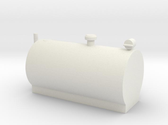 1/64 Big Horizontal Fuel Tank 3d printed