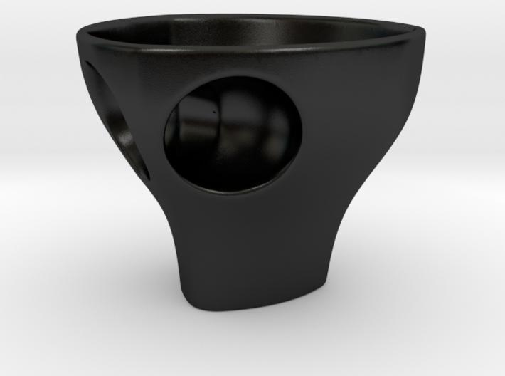 """Holyspresso """"S"""" double espresso cup 3d printed"""