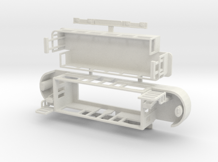 Eastbourne Tramway Car 2 No Seats 3d printed
