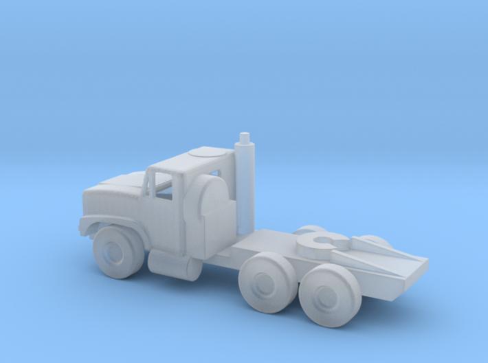 1/144 Scale Oshkosh Mk 31 MTVR Tractor 3d printed