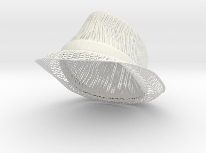Fedora 3d printed