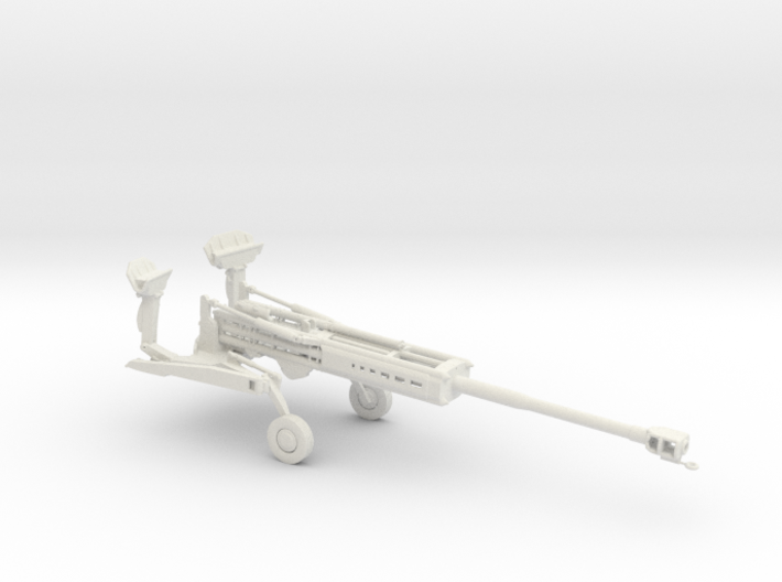 1/72 Scale M777 155mm Howitzer Towed 3d printed