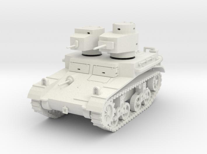 "PV42A M2A2 ""Mae West"" Light Tank (28mm) 3d printed"