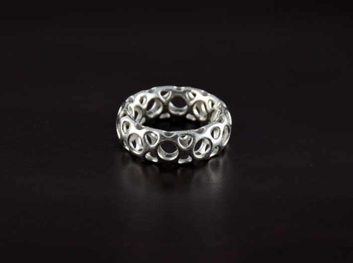 D.O.R Ring-M size 3d printed