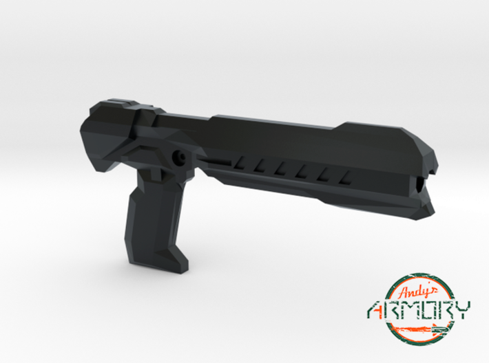 Andy's Armory: AA BLST 001 Heavy Pistol 3d printed