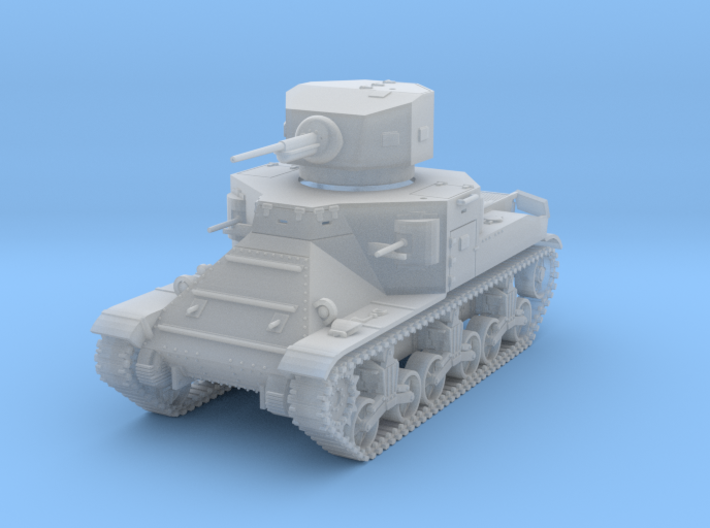PV37C M2A1 Medium Tank (1/72) 3d printed