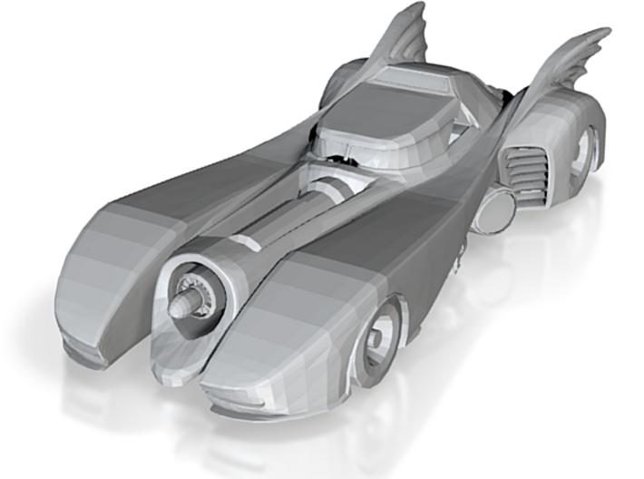 Batmobile N Scale 3d printed
