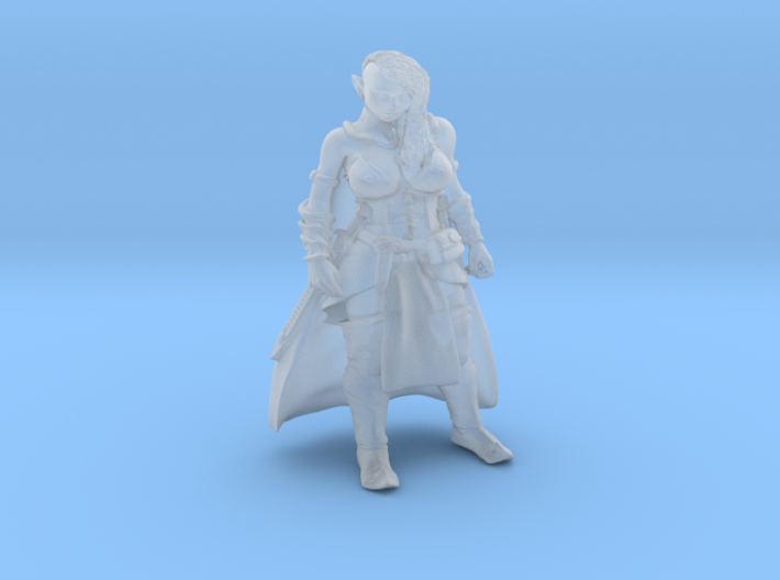 Aluralith, Elven Rogue 3d printed