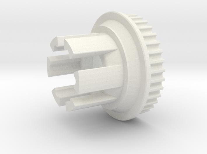 10mm 36T Pulley For Flywheels 3d printed