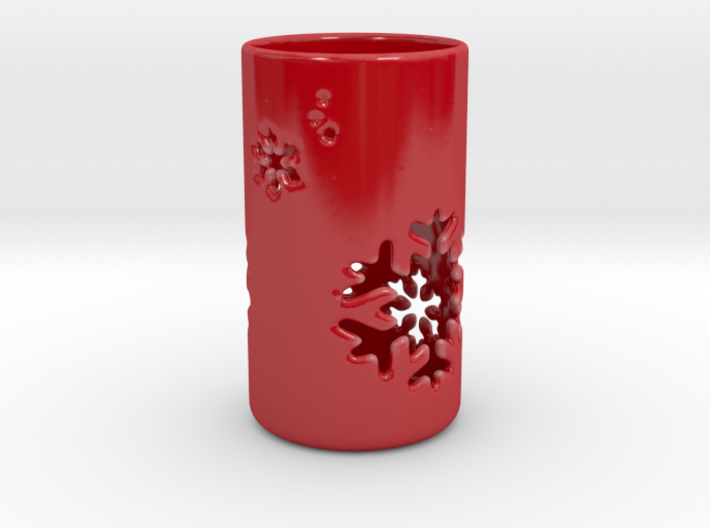 Snowflake Candle Holder K 3d printed