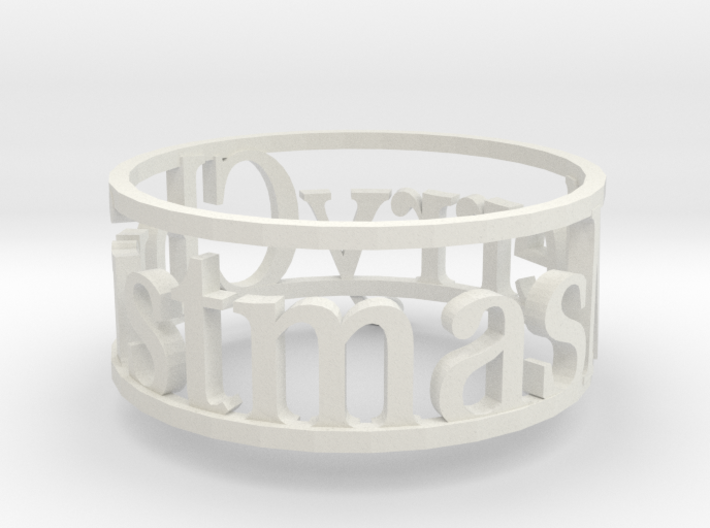 Napking Ring for Christmas 3d printed