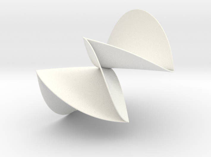 Sylvester's Amphigenous Surface 3d printed
