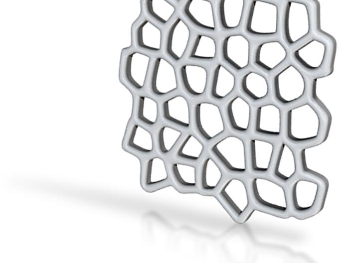 Voronoi Coaster 3d printed