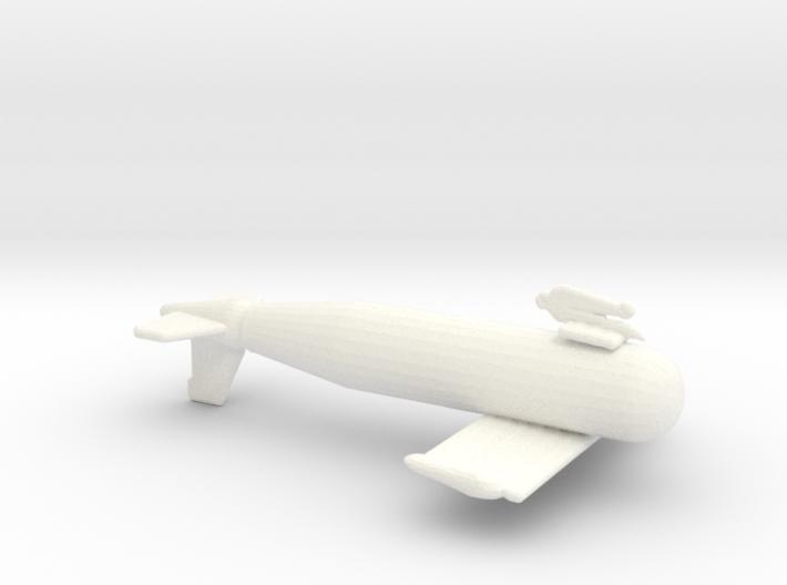 1/72 Scale IJN Paravane 3d printed