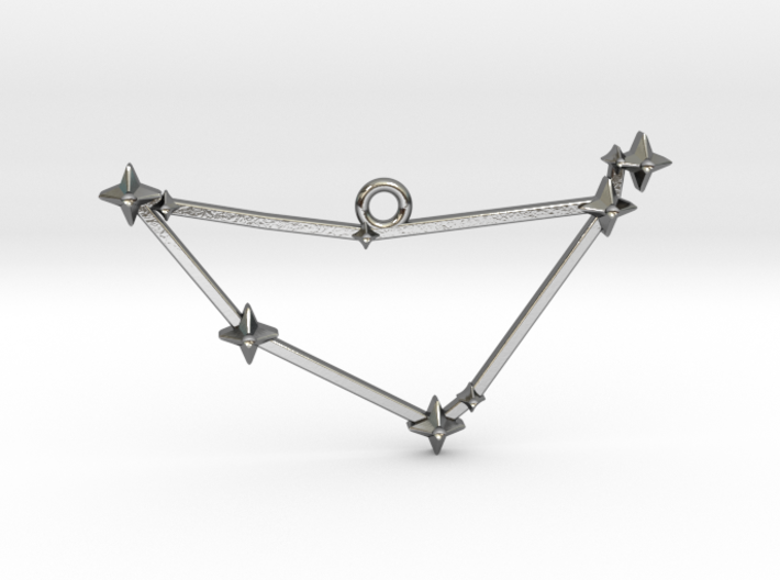 The Constellation Collection - Capricorn 3d printed
